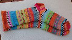 Bunte+Socken+Orangine+Gr.+39/40+von+Sockenlust+auf+DaWanda.com