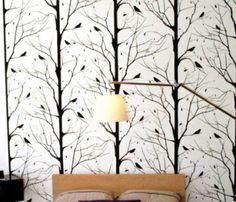 I like that wallpaper. It would be pretty on an accent wall.
