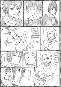 SasuSaku family doujinshi page 4