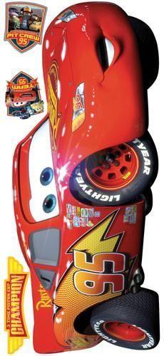 Cars - Lightening McQueen Peel & Stick Giant Wall Decal (RMK1518GM)