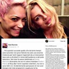 Emma Marrone critica Red Ronnie: è polemica su Elodie