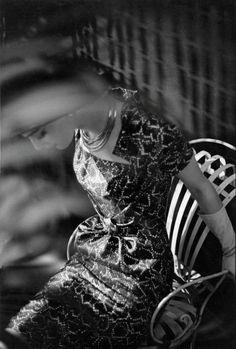 Frank Horvat - Judy Dent, Paris, 1961