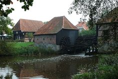 Watermill Bels, located in Mander, The Netherlands.