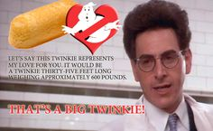 A big twinkie. Original Ghostbusters, Extreme Ghostbusters, Janine Melnitz, Harold Ramis, Miss Peregrine, Ghost Busters, Fantasy Movies, American Actors