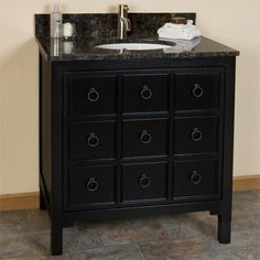 Apothecary Vanity Cabinet Vessel Sink