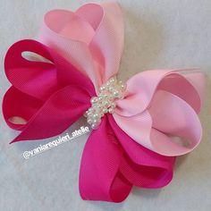 Making Hair Bows, Diy Hair Bows, Diy Bow, Diy Ribbon, Ribbon Crafts, Ribbon Bows, Boutique Bows, Baby Bows, Baby Headbands