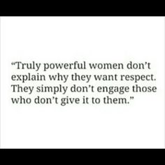 Respect... or lack thereof affects confidence. Don't engage those individuals who won't give you respect.