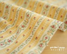 Shabby Chic Neat Spring Pale Yellow Colorway LIttle by stefaniexu