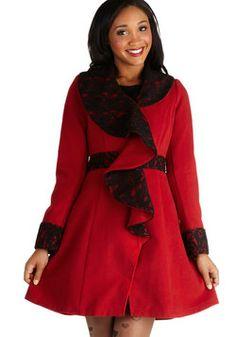 West End Weekend Coat, #ModCloth Orig. $159.99, Now $47.99