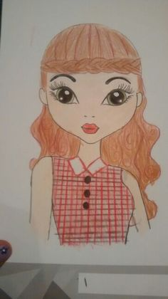 My cute country girl drawing