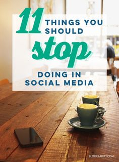 Some of this is social media 101, but doing these can hurt your social media marketing. Learn what NOT to do (and what you should do instead). >> We agree with everything in this article.
