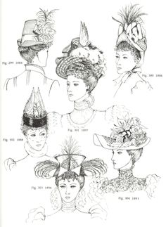 belleepoquecoutur… Nice Women's Hair Styles belleepoquecoutur… For other models, you can visit the … Victorian Hats, Edwardian Era, Belle Epoque, Retro Fashion, Vintage Fashion, Types Of Hats, Saint Laurent, Popular Hairstyles, Historical Clothing