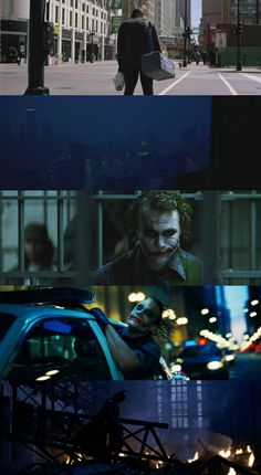 The Dark Knight (2008) Director: Christopher Nolan. Director of Photography: Wally Pfister.