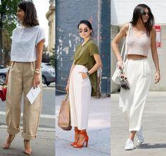 Φαρδιά παντελόνια σε κάθε εμφάνιση!