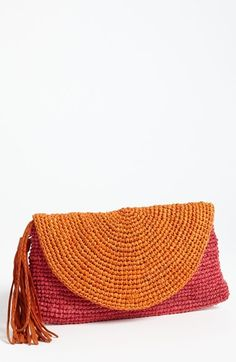 Free shipping and returns on Mar y Sol 'Camille' Raffia Clutch at Nordstrom.com. A curvy flap and swishy tassel perfect a cute, artisanal clutch handcrafted from sustainably sourced raffia that's as eco-friendly as it is stylish.