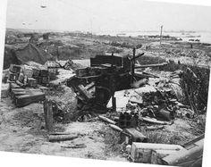 Colleville -sur-Mer, Omaha Beach, june 1944.