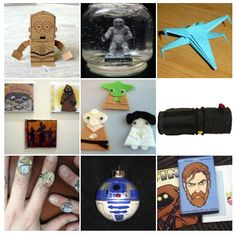 4YA: Inspiration for Youth Advocates: Teen Craft Projects: Star Wars Craft Bonaza
