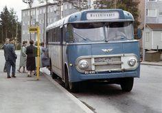 Munkkivuoren bussi... (valo)kuvia 50-80-luvuilta...