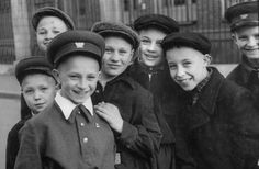 Lisa Larsen—Time & Life Pictures/Getty ImagesRussian boys line up to see visiting French Prime Minister Guy Mollet, 1956.