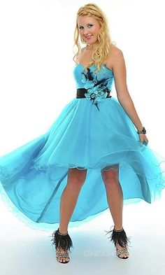 Empire Chiffon Sweetheart Long Dress Charm89388