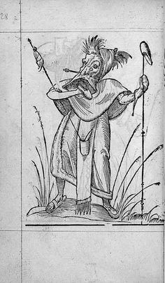 François Desprez, f. C1 v° Dessin 28 Les Songes drolatiques de Pantagruel A Paris : Par Richard Breton 1565