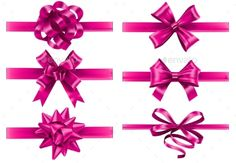 Pink Silk, Silk Ribbon, Design Bundles, Valentine Day Gifts, Iphone Wallpaper, Clip Art, Ribbons, Bows, Wrapping