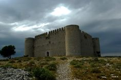 Castell de Torroella-de-Montgri. One of the best ways to explore Spanish Catalonia is by bike. Find out more about our self-guided cycling trips here: http://www.discoverfrance.com/spain/cycling-tours