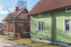 ©lempipaikalla_puutaloalueet-2 Finland, Shed, Outdoor Structures, Places, Barns, Sheds, Lugares