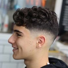 Curly Undercut: 30 Modern Curly Haircuts for Men - Men's Hairstyle Tips Boys Haircuts Curly Hair, Teen Boy Hairstyles, Wavy Hair Men, Curly Hair Cuts, Haircuts For Men, Curly Hair Styles, Men's Hairstyles, Cool Haircuts, Best Male Haircuts