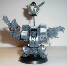 My favorite ork warboss in mega armour so far