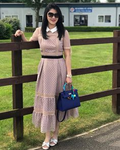 Dresses - Happy Sunday Everyone 💖newin selfportrait exhibitspace hermes hermesblueelectric hermesshoes hermesoasis… Stylish Dresses, Cute Dresses, Casual Dresses, Fashion Dresses, Simple Dresses, Summer Dresses, Indian Designer Outfits, Indian Outfits, Designer Dresses