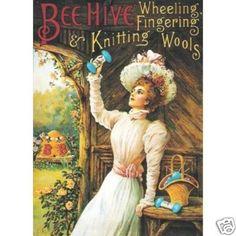 Beehive yarn ad