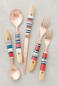 Mariner Flatware - anthropologie.com #anthrofave