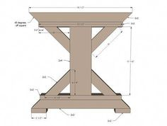 DIY Providence Bench Plans By Ana White Handmade With . Tall Pub Table And Chairs Foter. Truss Beam Table And Bench Ana White. Finding Best Ideas for your Building Anything Farmhouse Table Plans, Farmhouse Style Table, Farmhouse Kitchen Tables, Farmhouse Furniture, Farm Table Plans, Outdoor Farmhouse Table, Kitchen Wood, White Farmhouse, Diy Furniture Projects