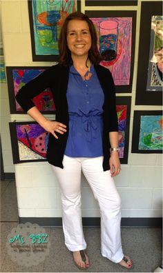 Ms. BBZ: Teacher Clothes: Spring Clothes