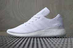 13a013bb47411e adidas Busenitz Pure BOOST (Triple White) - Sneaker Freaker. Kleid Mit  TurnschuhenWeiße TurnschuheSchuhe ...