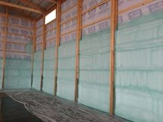How to insulate a pole barn pole barn insulation options pole insulation types solutioingenieria Image collections