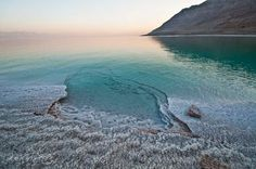 DEAD SEA Israel -Landscape from The lowest place on earth