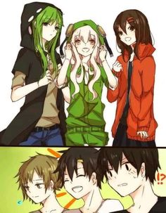 Kagerou Project ||||~THIS IS SO CUTE THEY ARE WEARING THEIR BOYFRIENDS JACKETS OMGOMG IM FREAKING OUT