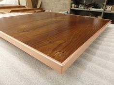 https://flic.kr/p/M9cvfD | Natural Copper Edge Trimmed Timber Top | OLYMPUS…