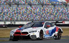 Download wallpapers BMW M8 GTE, 4k, raceway, 2018 cars, M8, racing cars, BMW