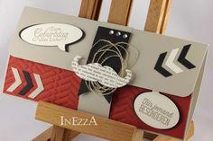 Glückwunschkarten - Geschenkverpackung für Konzertkarte Reserviert - ein Designerstück von Inezza-Geschenke bei DaWanda