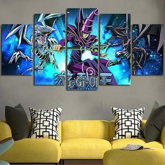 Silk Poster Wall Decor Custom Yu-Gi-Oh