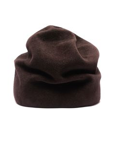 Your Number – Your Hat Number 562 – Handcrafted rabbit fur hat.  All hats from Your Number are individually handcrafted in a small atelier in Russia, using old traditional hand shaping techniques. Each hat is made to order and will take 3–4 weeks to produce.