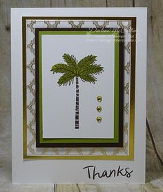 Totally Trees Palm by darhm - Cards and Paper Crafts at Splitcoaststampers
