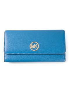 39afe9c280e5 Shop Michael Michael Kors  Fulton  wallet in Gore from the world s best  independent boutiques