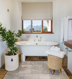 Haven Studio has been inspired by ethnic living, tribal heritage and a range of textures in ivory, white & wood. A simply serene space to revive and rejuvenate in the luxury of this African inspired studio. Clawfoot Bathtub, White Wood, Studios, Relax, Luxury, Gallery, Inspiration, Design, Biblical Inspiration
