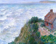 Claude Monet (1840-1926) Maison de pêcheur au Petit Ailly