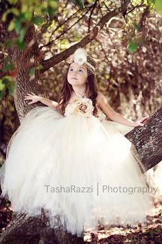 Once Upon a Fairy Tale Creme & Champagne by lauriestutuboutique, $72.50