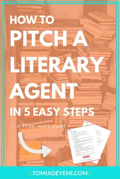 Going to a writers conference? Click here to learn 5 easy tips that'll help you pitch your story today! (also get a free worksheet to help you craft your pitch!) Writing | Writing Tips | Publishing | Publishing A Book | Pitching | Literary Agent | Pitching A Literary Agent
